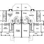 Suburban House Layout Eplans Country Ehouse Plan