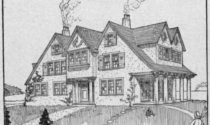 Summer Cottage Home Plans Floor Lrg