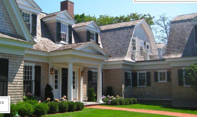 Summer House Shingle Style Cape Gambrel Newport
