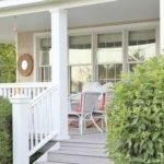 Summer Tour Soft Coastal Colors Touches Farmhouse Front Porch