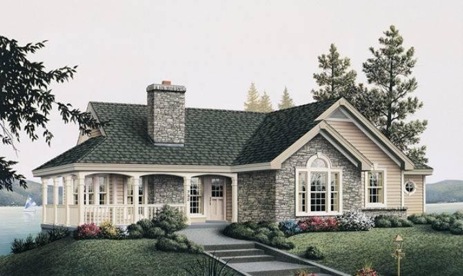 Summerview Atrium Cottage Home Plan House