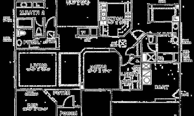 Sun City Vistoso Floor Plan Hampton Model
