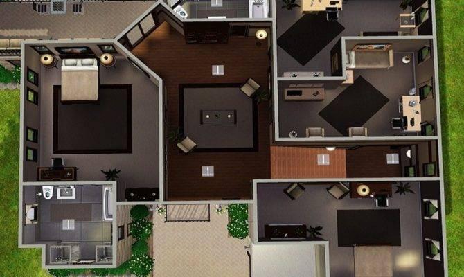 Sun Room Floor Plans Building Garage Plan