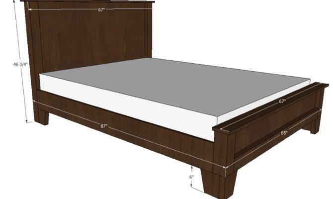Sunda Bed Plans Old Paint Design