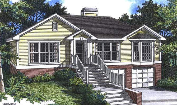 Sundale Split Level Home Plan House Plans More