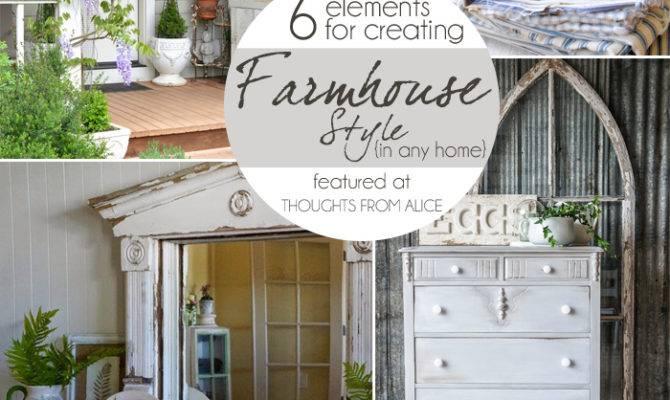 Sundays Home Elements Creating Farmhouse