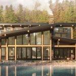 Sunriver Modern Timber Frame Floor Plan