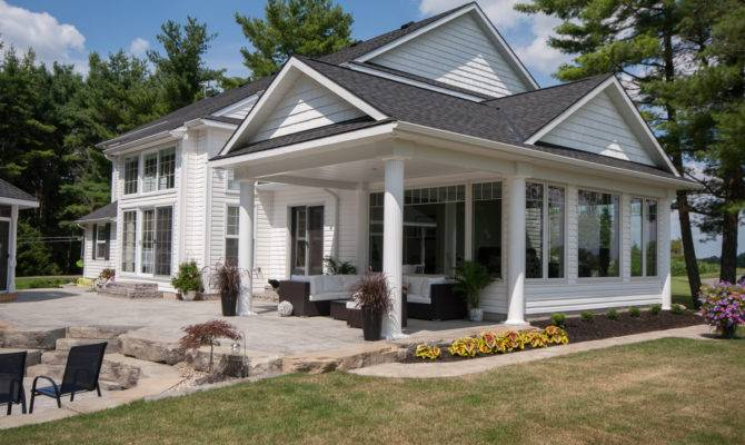 Sunroom House Plans Ranch