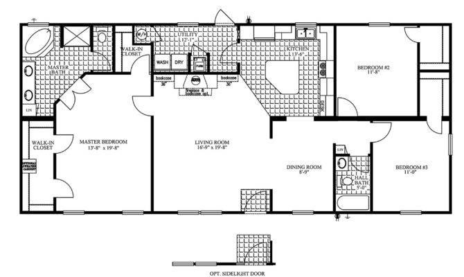 Sunshine Double Wide Mobile Home Floor Plans Deco