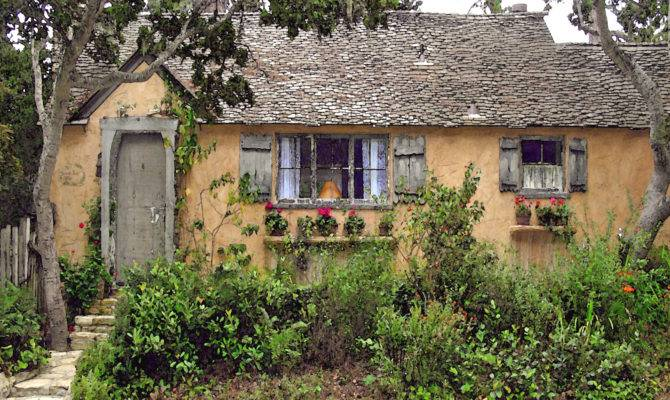 Sunwise Turn Hugh Comstock Fairytale Cottage Carmel