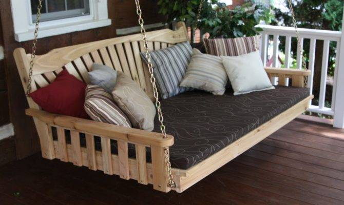Super Comfy Porch Swing Bed Designs Perfectporchswing