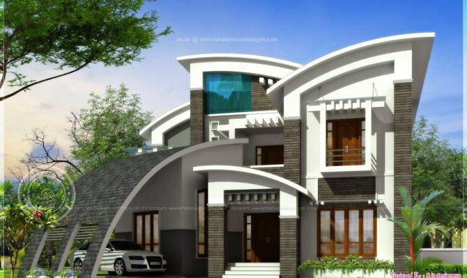 Super Luxury Ultra Modern House Design Indian Plans