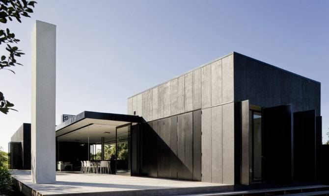 Super Modern Minimalist Home Architecture Design Concrete