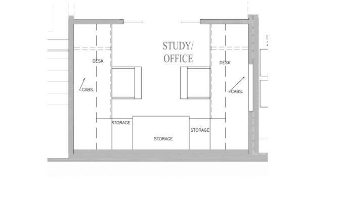 Super Space Planning Two Person Home Office