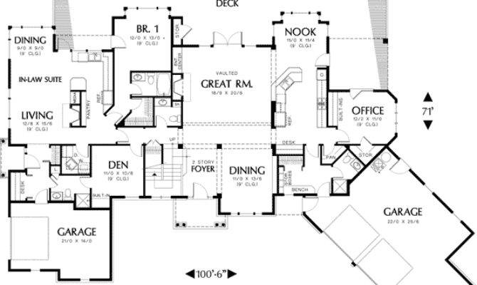 Superb Home Plans Inlaw Suites Floor