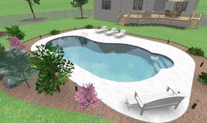 Superb Sims Pool Ideas Design Kidney Shaped