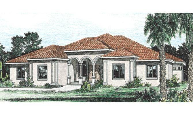 Surprisingly Stucco House Plans Home