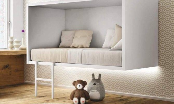 Suspended Single Bed Cloud Lago Design Daniele
