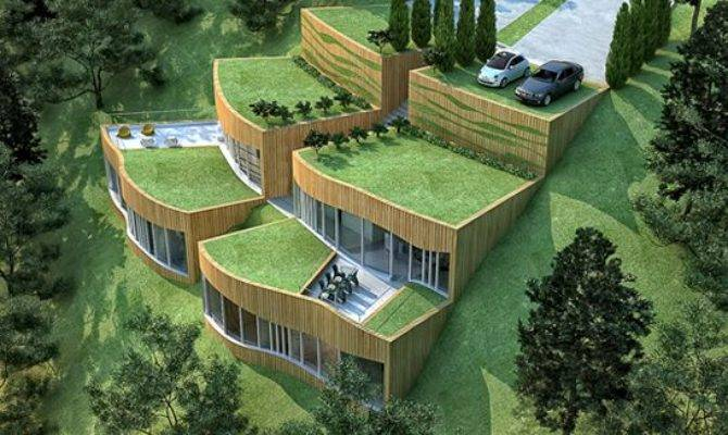 Sustainable Architecture Brings Real Green Eco
