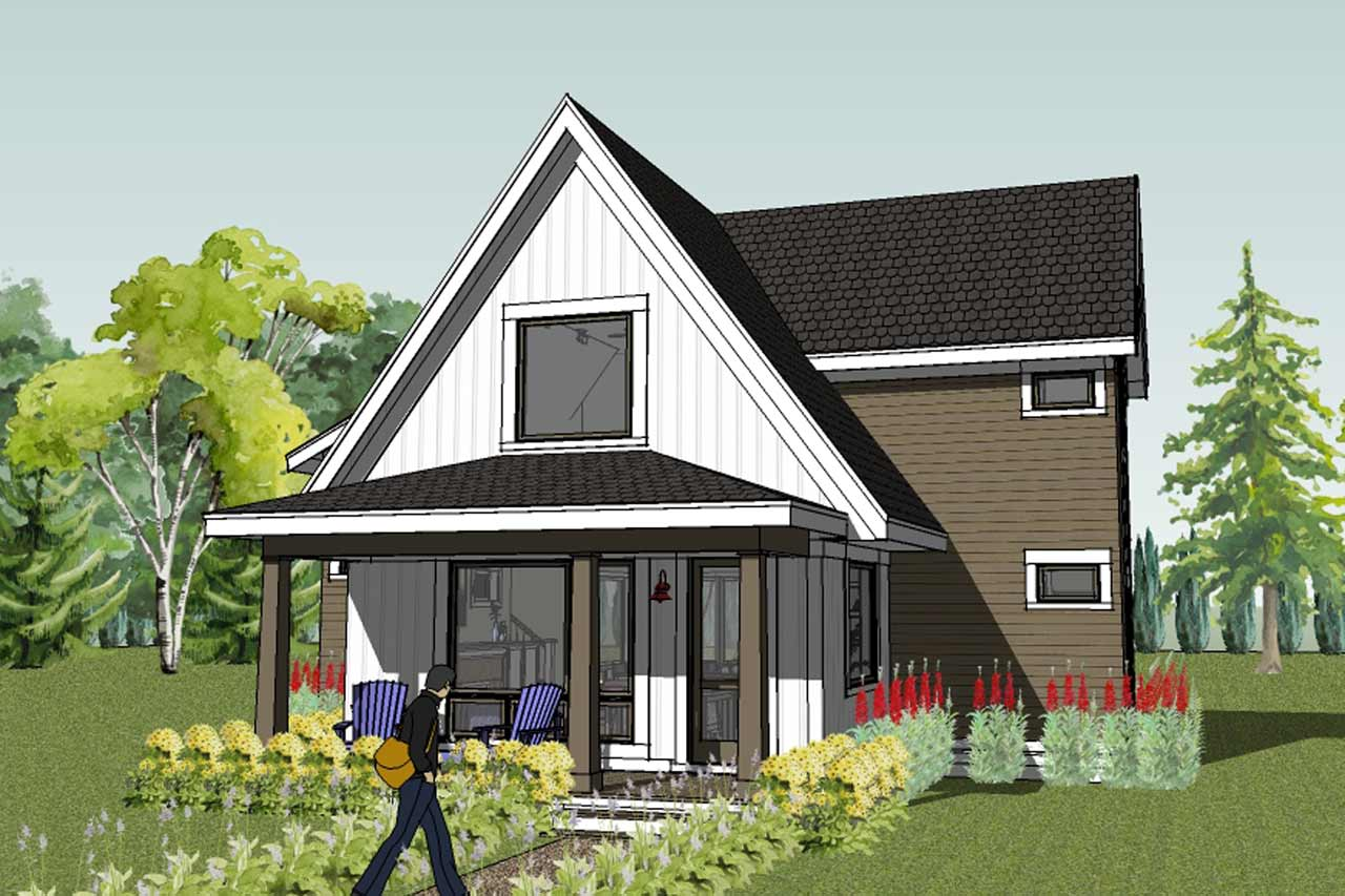 Sustainable Home Design Green House Plans House Plans 162814