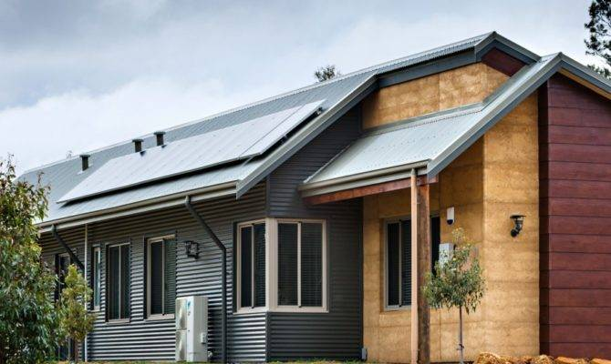 Sustainable House Design Eco Habit
