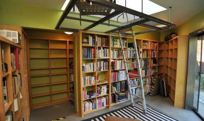 Sweet Desert Home Library Loft Mountain