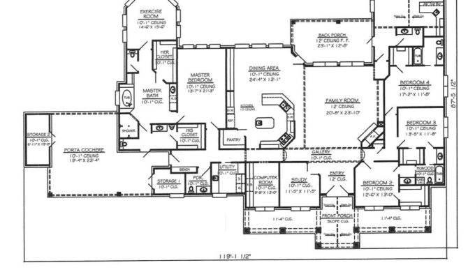 Sweet Four Bedroom House Floor Plans Singlex Also