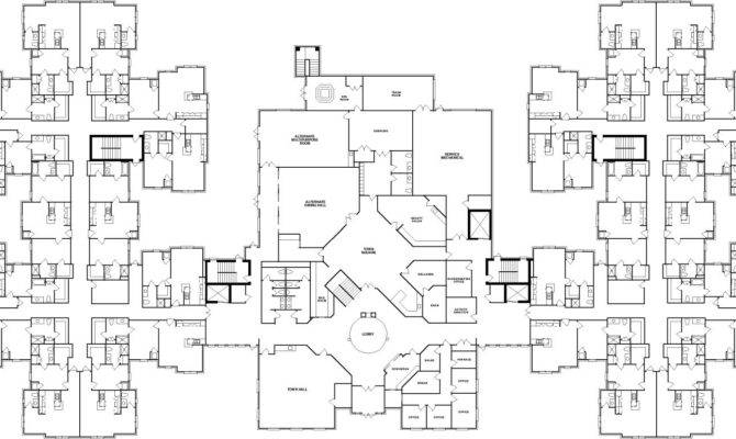 Sweet Home Senior Apartments Floor Plans