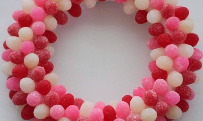 Sweet Lovely Crafts Gumdrop Valentine Day Wreath