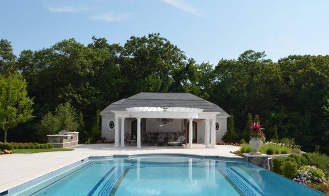 Swimming Pool Cabana Designs Home Design Interior