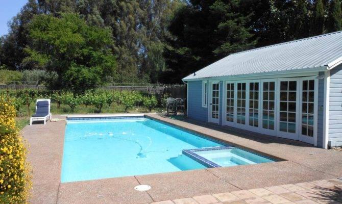 Swimming Pool Minimalist Home