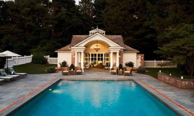 Swimmingly Beautiful Pool Houses Home Design