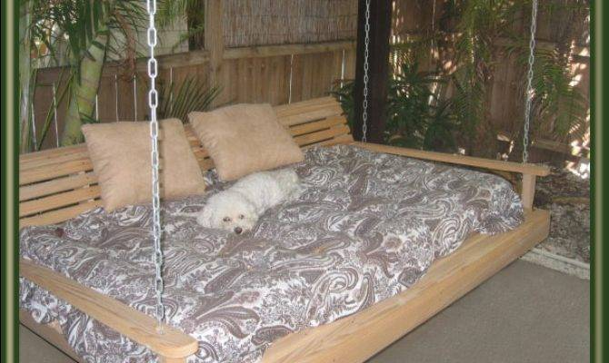 Swing Beds Porch Bed Pinterest Patio
