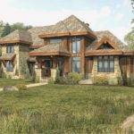 Tamarack Log Home Floor Plan Wisconsin Homes