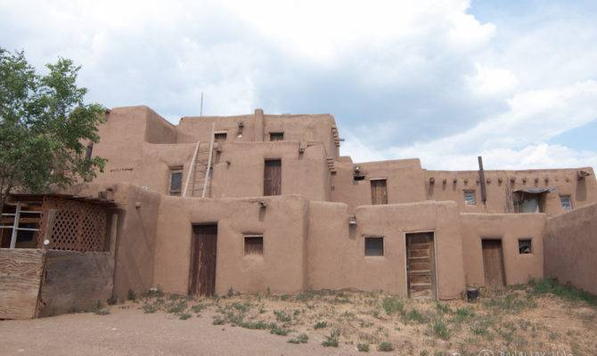 Taos Pueblo Thousand Year Old Adobe Architecture