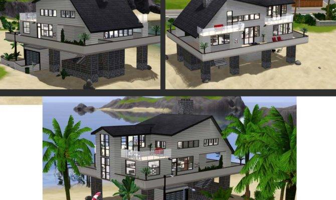 Techniques Sims Beach House Blueprints All
