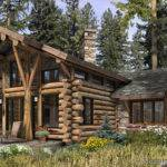 Telluride Log Cabin Plan Rustic Luxury Cabins Plans