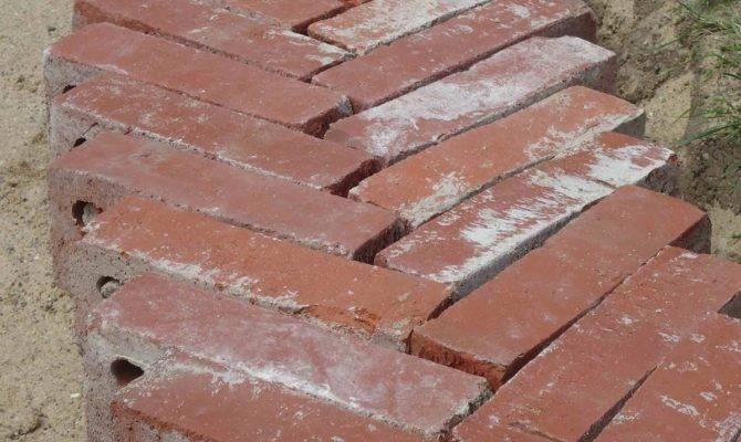 Terrace Simple Patio Brick Patterns Walkway Ideas