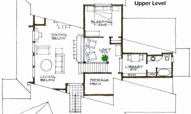 Terrific Partially Underground House Plans Plan