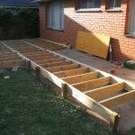 Terrys Multi Level Low Deck Step Work Progress