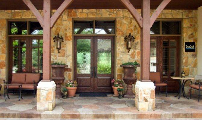Texas Hill Country Porch Style Homes Pinterest