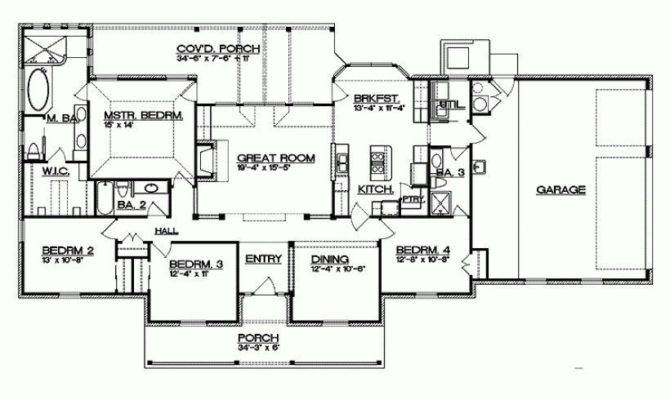 Texas Ranch House Floor Plans Fresh Eplans
