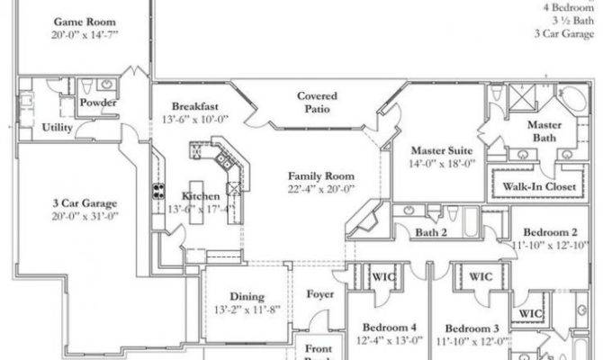Texas Ranch Style Home Floor Plans Archives New