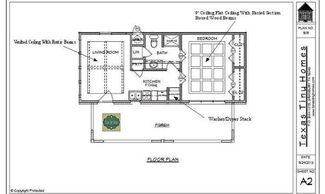 Texas Tiny Homes Plan