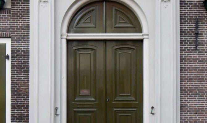 Texture Neoclassical Wood Door Lugher