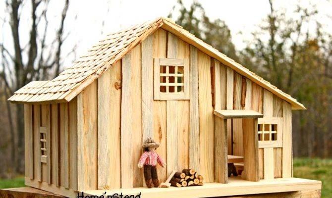 Thatfamilyshop Little House Prairie Dollhouse Playset