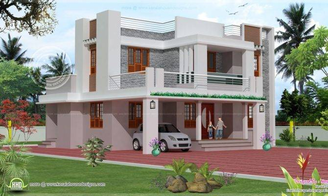 Theme Day Simple Two Storey House Design