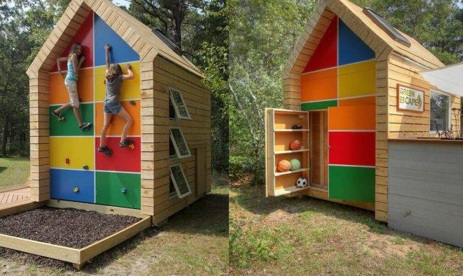 These Kids Playhouses Perfect Backyard