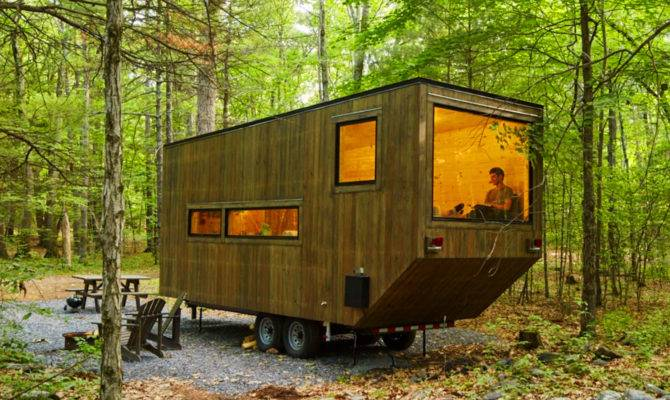 These Secluded Tiny Cabins Make Want Unplug