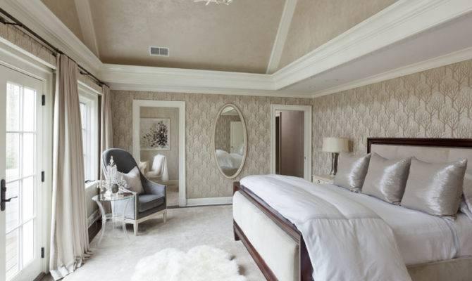 Things Take Very Soothing Feminine Look Master Bedroom